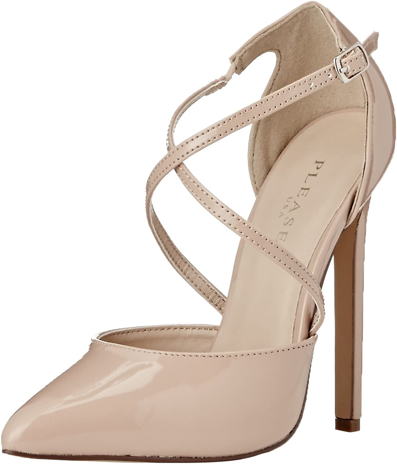 Pleaser Womens sexy26 nu D'Orsay Pump