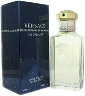 Gianni Versace Dreamer Eau de Toilette Spray for Men, 3.4 Fluid Ounce