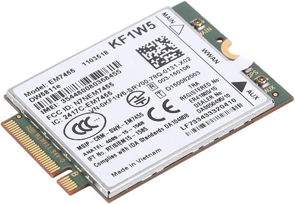 AOER Em7455 Wireless Card Module PCIe Max Be super welcome 75% OFF WWAN M.2 LTE NGFF 4G