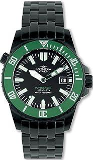 Mondia intrepido Automatic Mens Analog Japanese Automatic Watch with Stainless Steel Bracelet MI725N-3BM