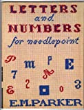 Letters and Numbers for Needlepoint