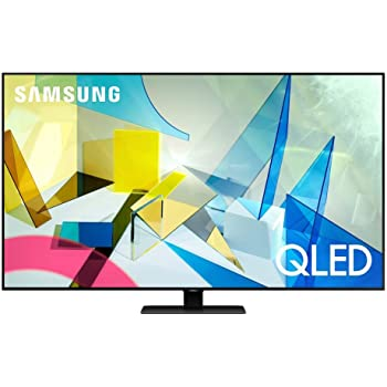 SAMSUNG 55-inch Class QLED Q80T Series - 4K UHD Direct Full Array 12X Quantum HDR 12X Smart TV with Alexa Built-in (QN55Q80TAFXZA, 2020 Model) (Renewed)