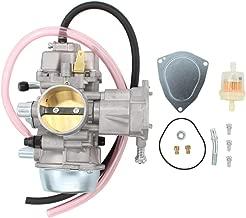 Carburetor For Yamaha Grizzly 600 YFM600 YFM600FH 1998-2001, Grizzly 660 YFM660 YFM660FA YFM660FH 2002-2008, Rhino 660 YXR660 YXR660FA 2004-2007 ATV UTV Carb with Fuel Filter Hose