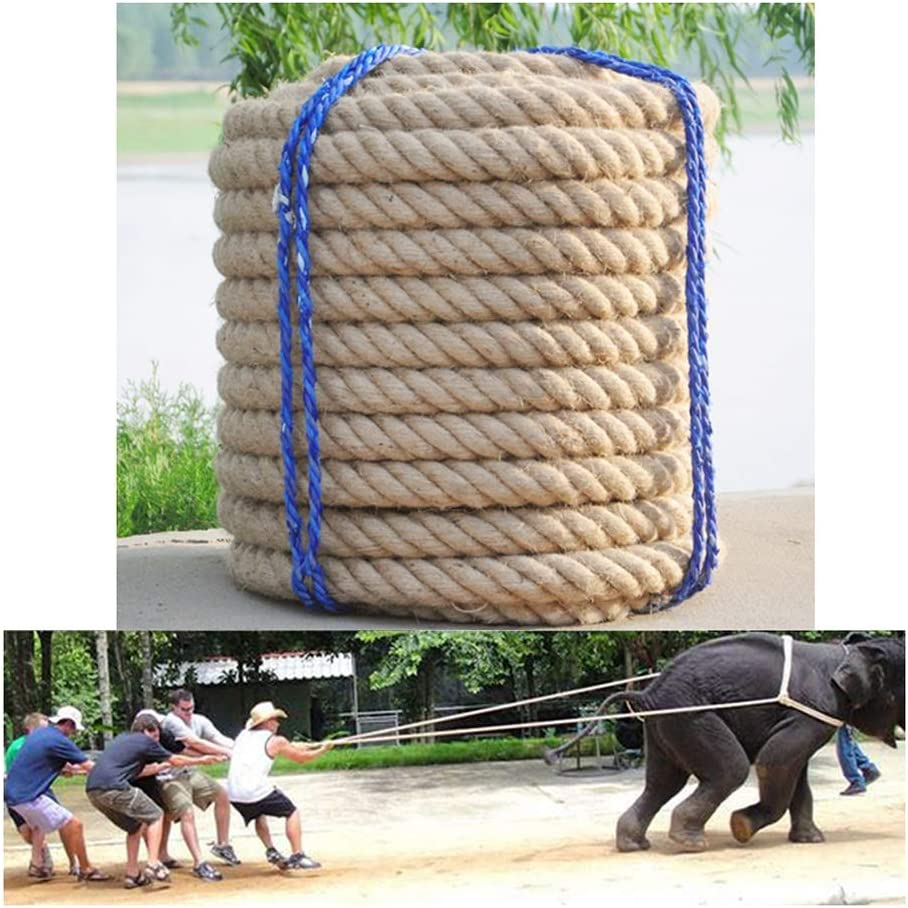 GZHENH In stock Rope Net Natural Thick San Jose Mall Cargo String Strong Jute and