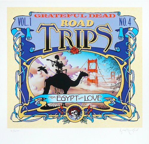 Grateful Dead ~ Road Trips ~ Limited Edition Print ~ By Scott McDougall
