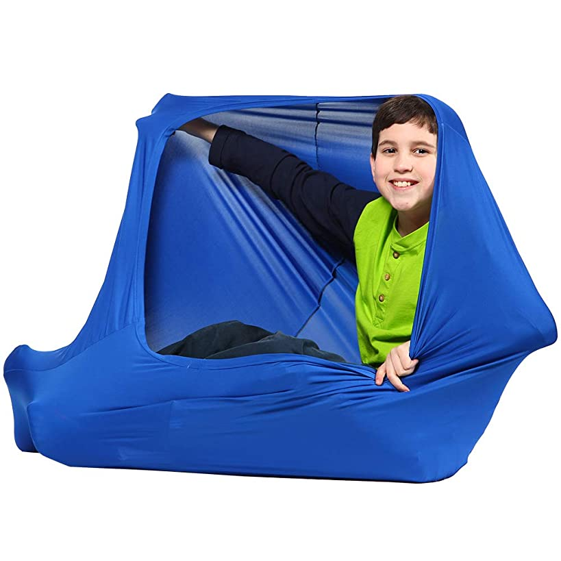 Transformer Sensory Sack – Therapy Toys for Autism, Special Needs Kids, Sensory Processing Disorder – 40x20 Inches, Blue