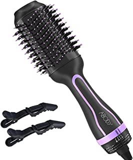 Abody 1875W Hair Dryer, Negative Ionic Blow Dryer with 2 Speed 3 Heat Setting, Cool Shot Button, Lightweight Fast Dry Low Noise with Diffuser & Concentrator, Black