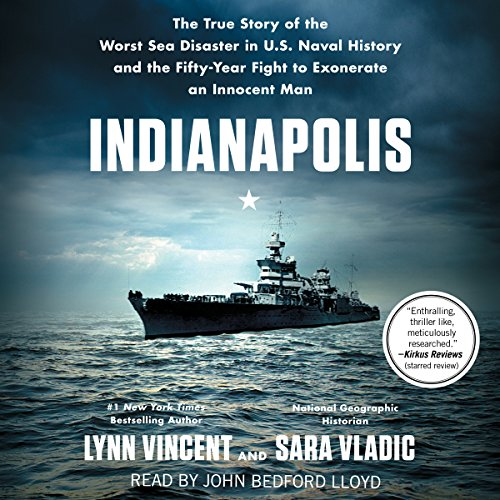 Indianapolis audiobook cover art