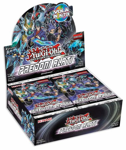 yu-gi-oh Wing Raiders - 24 boosters Display (IT)