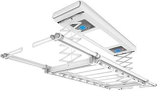 Household items Corde à Linge télécommandée pour Support de séchage rétractable au Plafond, Séchoir électrique Chauffant à...