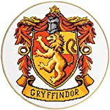 Counted Cross Stitch Kit 'Griffindor Crest' - DIY Embroidery Kit with Harry Potter Pattern Design