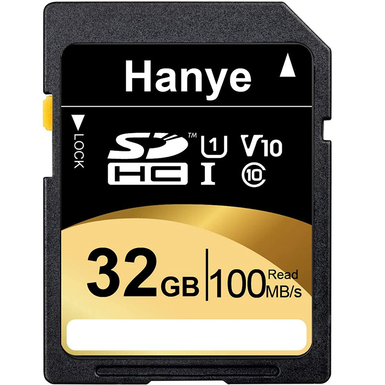 自己尊重軽蔑する流SDカード SDHCカード 32GB Hanye 超高速100MB/S(最大転送速度)Class10 UHS-I U1 V10対応 パッケージ品