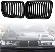 Heart Horse Kidney Front Grilles Grill for BMW E36 3 Series 318 320 323 328 M3 1997-1999