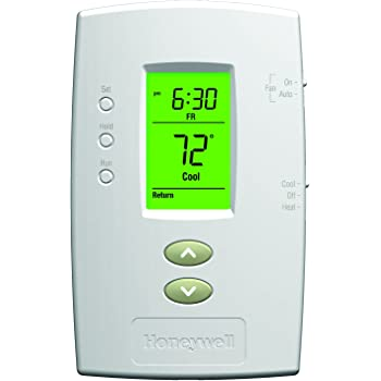 Honeywell TH2110D1009 Pro 2000 Single Stage 1-Heat/Cool Thermostat