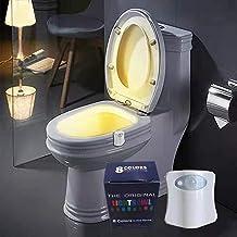 Jiaren Kleur Veranderende Toiletverlichting, Nachtverlichting, Toilet en Badkamerverlichting, Led Lichten met Nachtlichaam...