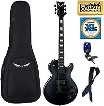 Dean TB STH BKS Thoroughbred Stealth Black Electric Guitar w/EMG's, Bag Bundle