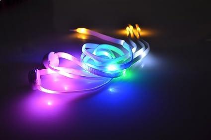 UK 2 paires lorpops Lacets arc-en-ciel lumineux 2 longueurs, 5//16 pouces de largeur