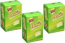 Scotch-Brite 3PK Dobie Cleaning Pad (Pack of 3)