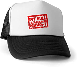 Pit Bull Addict Trucker Hat - Trucker Hat, Classic Baseball Hat, Unique Trucker Cap