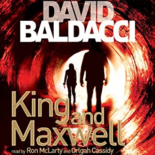 King and Maxwell audiobook cover art