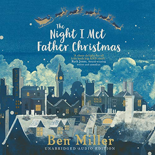 The Night I Met Father Christmas audiobook cover art