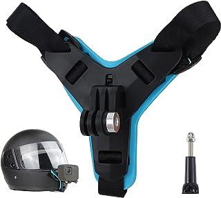 Motorhelm Chin Mount, Motorhelm Strap Full Face Front Chin Mount met Extension Swivel Arm Kits Motorhelm Strap Front Chin ...