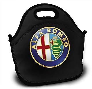 Bolsa de Almuerzo Alfa Romeo Caja de Almuerzo Bolsa de Almuerzo con Aislamiento térmico Bolsa de Picnic para la Escuela Mochila de Cuerpo Cruzado