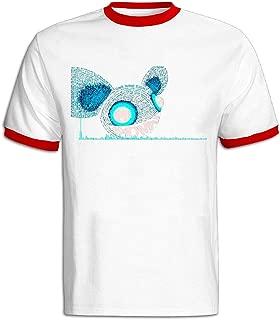 Men's Bonnaroo 2016 Deadmau5 Soft T-shirt Black