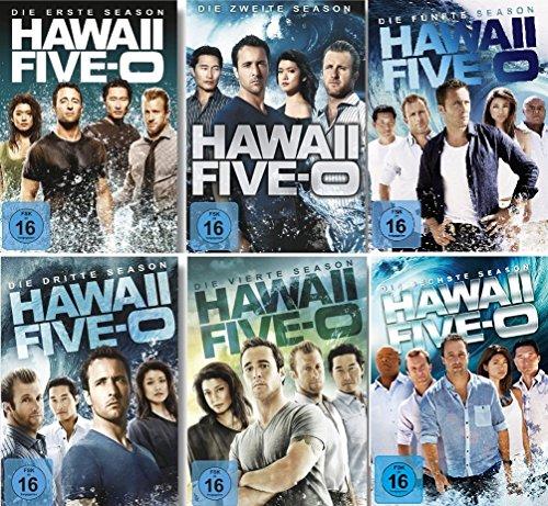 Hawaii Five-0 - Staffeln 1-6 (37 DVDs)