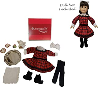 American Girl Samantha's Holiday Outfit & Tea Accessories Set For Doll (Doll is not included)