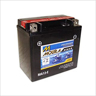 Bateria AGM Moto Moura 12V 12Ah MA12-E 500FA RUBICON 500FE TRAX FPE FPM 955I RINCON 1100C C3 SPIRIT