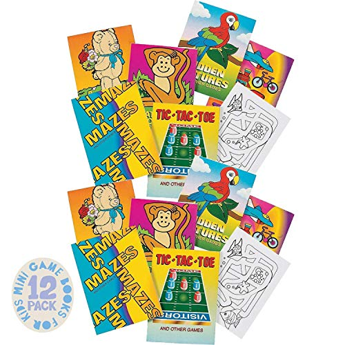 Kicko Mini Game Books for Kids - 12…