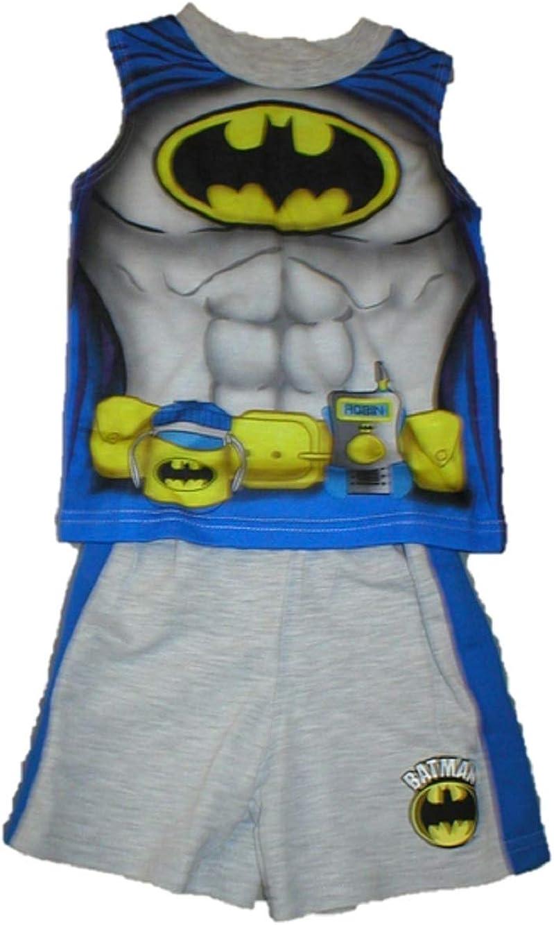 DC Comics Batman Baby Boys Tank Top and Shorts Outfit Set (18 Month)