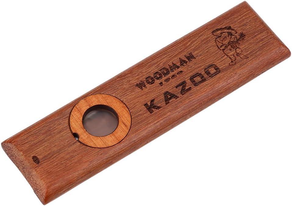 Direct stock discount 5 ☆ very popular Wooden Kazoo Vintage Ukulele Guitar Easy Partner to
