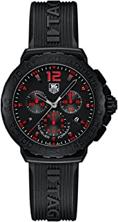 Formula 1 Chronograph Black Dial Black Rubber Mens Watch CAU111A.FT6024