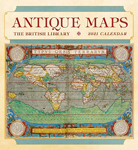 Antique Maps 2021 Wall Calendar