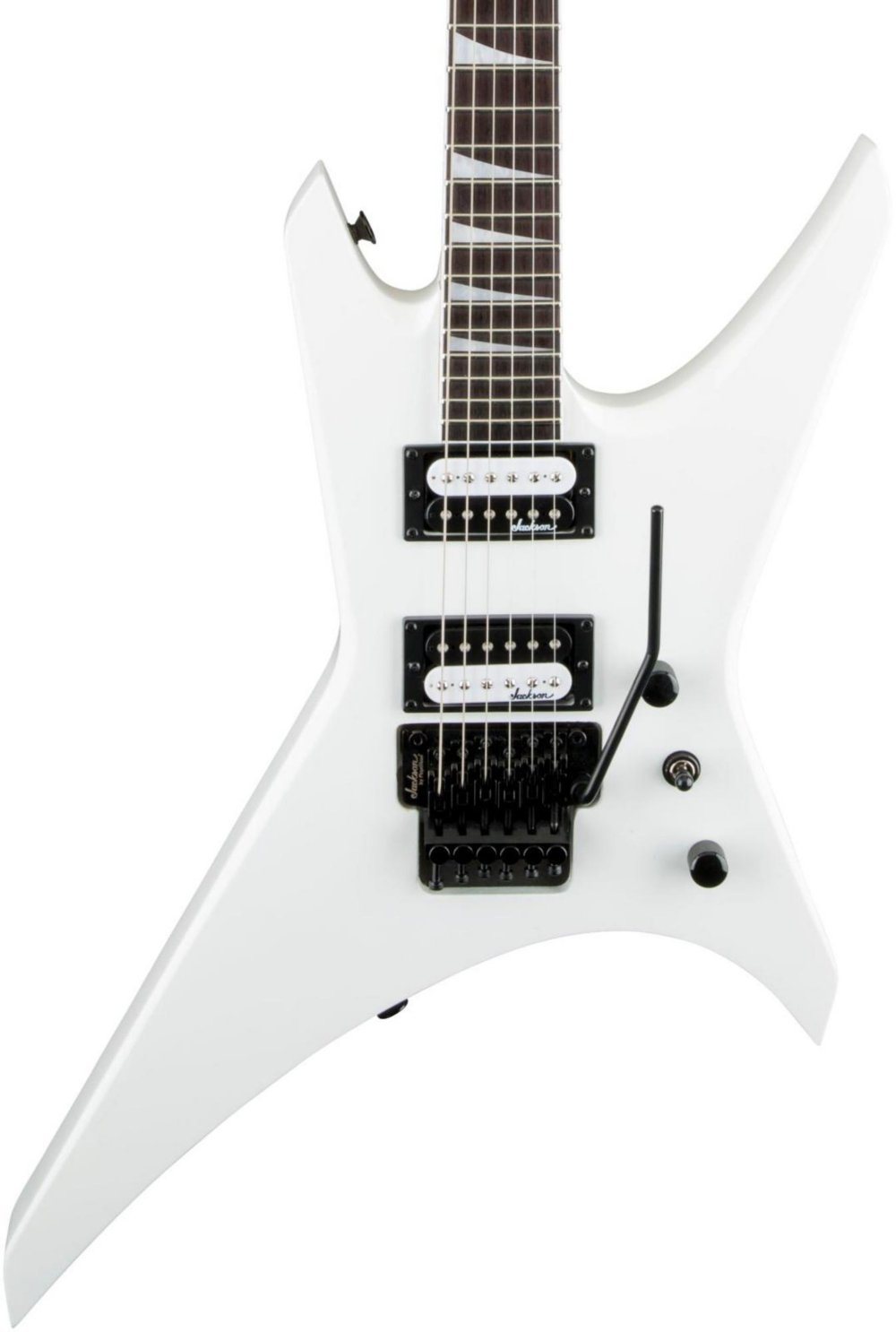 Jackson JS32 Warrior Snow White Guitarra Electrica: Amazon.es ...