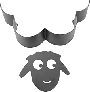 Nirmon Mouton DéCoratif Porte-Rouleau de Papier Toilette Support Mural Salle de Bain Stockage Artisanat sur Pied Support d...