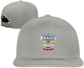 JimHappy Brasil-Russia-2018-Futebol Cute Trucker Cap Durable Baseball Cap Hats Adjustable Peaked Sandwich Cap