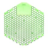 Fresh Products FRS 2WDS60 CME Wave 3D Urinal Deodorizer Screen, Cucumber Melon Fragrance, Green (Pack of 10)