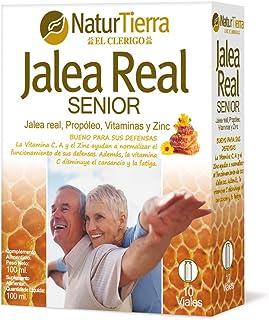 Naturtierra Jalea Real Senior con Propóleo. Vitaminas y Zinc - 100 mililitros