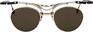 Luxury Fashion | Kuboraum Mens IRSOJ1MX100000FGMX1 Gold Sunglasses | Spring Summer 19