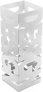 comprar comparacion Versa 20200101 Paragüero Design, Metal, Blanco, 52 x 19 x 19 cm