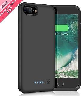 bf1e94317f1 HETP Funda Bateria para iPhone 6 Plus/ 6S Plus/ 7 Plus/ 8 Plus