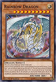 Rainbow Dragon - LED2-EN043 - Common - 1st Edition - Legendary Duelists: Ancient Millennium (1st Edition)