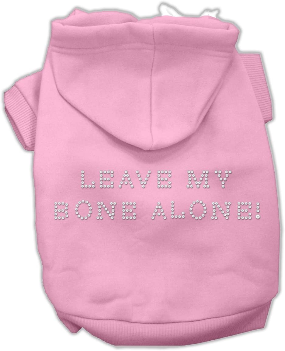 Mirage Baltimore Mall Pet Products New popularity Leave My Bone XS Hoodies Pink 8 Alone