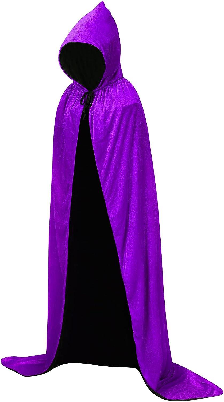 SFTXEY Hooded Louisville-Jefferson County Mall Cloak 25% OFF Velvet Robe for Halloween Cosplay Costu Cape