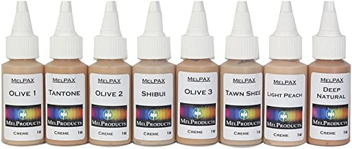 MEL Products Light/Medium Fleshtones Kit #4 PAX FX Makeup 1 oz.