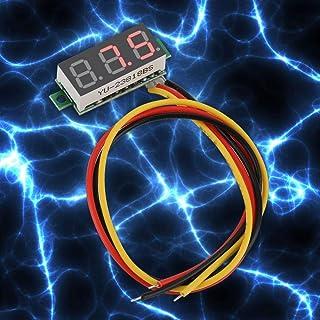 Gauge DC Voltage Meter 0~100 V Power Line Volt Test Monitor 0.28 Inch LED Display Voltmeter 3 Draden Hoge Presision voor k...