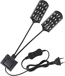 AC220V 15W 36 LED Dual-end Aquarium Light Fish Jar Lamp Flexible Bendable Illumination Angle White Portable